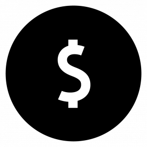 Image of Dollar Sign Financing Icon