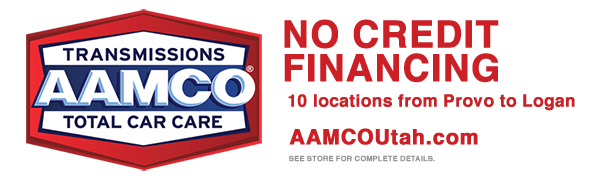 AAMCO Utah No Credit Financing Special Offer Banner