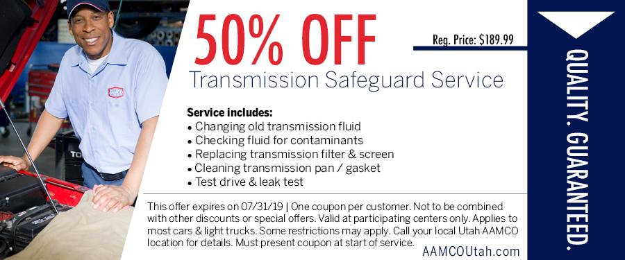 Transmission Repair, Flushes & Rebuilds - American Fork, UT